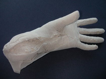Hand, nylon & plastic