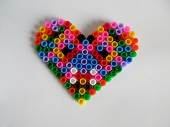 Heart - colourful