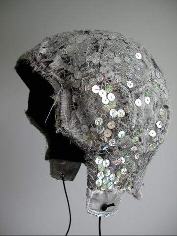 Glitterball cap - side view
