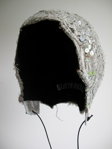Glitterball cap - front view