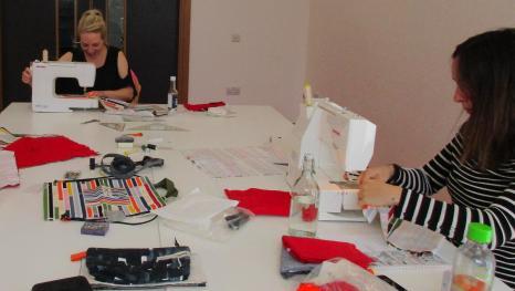 Participants at a recent course