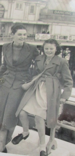 Mildred and Margaret, 1953
