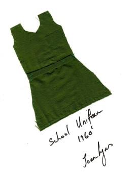 Joan-School Uniform 1960's