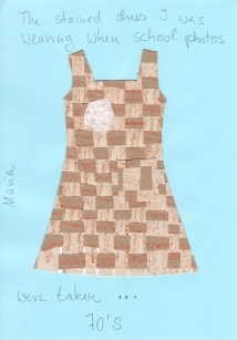 Maria - Stained Dress 70's